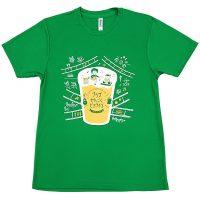 プラザせんごくビアライブのイベント用名入れTシャツ