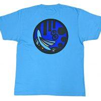八丈島商工会青年部様の50周年記念品のロゴ刺繍入りTシャツ